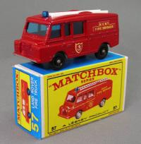 Repro Box Matchbox Superfast Nr.42 Tyre Fire