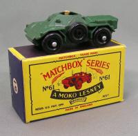 Repro box Matchbox 1:75 nº 61 Army Scout Car
